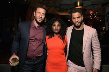 Ricky Whittle Yetide Badaki Starz 2019 Winter TCA Panel And All-Star After Party