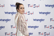 "Louise Roe attends ""A Ride Through the Ages"": Wrangler Capsule Collection Launch at Fred Segal Sunset at Fred Segal on September 19, 2019 in Los Angeles, California."