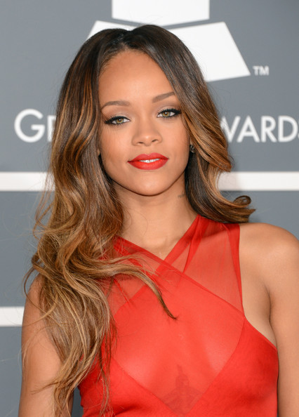 Rihanna - The 55th Annual GRAMMY Awards - Arrivals
