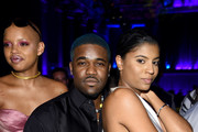 Slick Woods, ASAP Ferg and Renell Medrano attend Rihanna's 5th Annual Diamond Ball Benefitting The Clara Lionel Foundation at Cipriani Wall Street on September 12, 2019 in New York City.