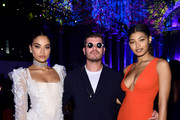 (L-R) Shanina Shaik, Eli Mizrahi, and Danielle Herrington attend Rihanna's 5th Annual Diamond Ball Benefitting The Clara Lionel Foundation at Cipriani Wall Street on September 12, 2019 in New York City.