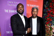 Meek Mill and YG attend Rihanna's 5th Annual Diamond Ball Benefitting The Clara Lionel Foundation at Cipriani Wall Street on September 12, 2019 in New York City.
