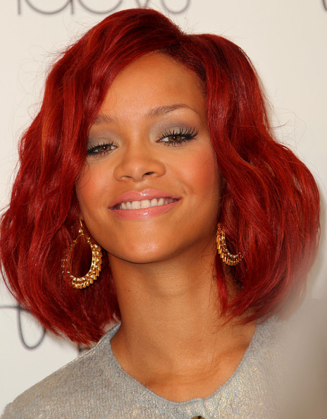 Rihanna Red Hair Pictures and Styles - Rihanna Red Hair - Zimbio