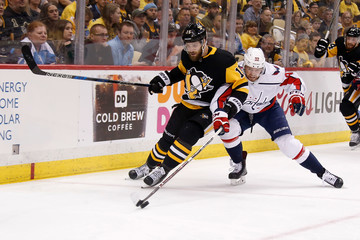 Riley Sheahan Washington Capitals vs. Pittsburgh Penguins - Game Four