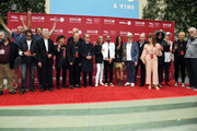 Guests including Peter Jackson, David Lynch, Nils Lofgren, Richard Lewis, Barbara Bach, Ringo Starr, Sheila E., and Don Was attend the Ringo Starr 11th Annual Peace & Love Birthday Worldwide Celebration at Capitol Records Tower on July 07, 2019 in Los Angeles, California.