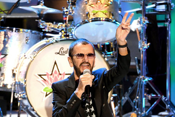 Ringo Starr Ringo Starr And His All Starr Band Perform At The Greek Theatre