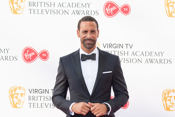 Rio Ferdinand Virgin TV BAFTA Television Awards - Red Carpet ARrivals