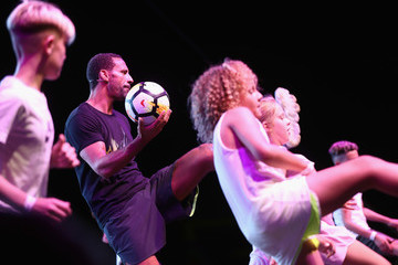 Rio Ferdinand Dubai Fitness Challenge Opening Carnival - Day 2