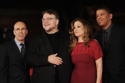 Jeffrey Katzenberg, executive producer Guillermo del Toro, producer Christina Steinberg and director Peter Ramsey attend 'Rise Of The Guardians' Premiere attend 'Rise Of The Guardians' Premiere during The 7th Rome Film Festival on November 13, 2012 in Rome, Italy.