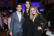 (L-R) Joshua Rush, Juliet Evancho and Jackie Evancho attend Rising Stars at the GLAAD Media Awards on May 4, 2018 at the New York Hilton Midtown in New York City.