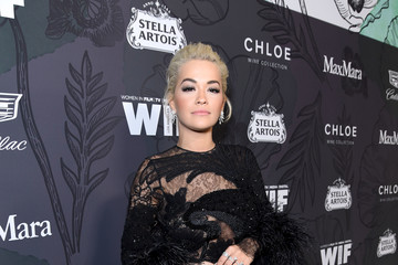 Rita Ora 12th Annual Women In Film Oscar Nominees Party Presented By Max Mara With Additional Support From Chloe Wine Collection, Stella Artois And Cadillac - Red Carpet
