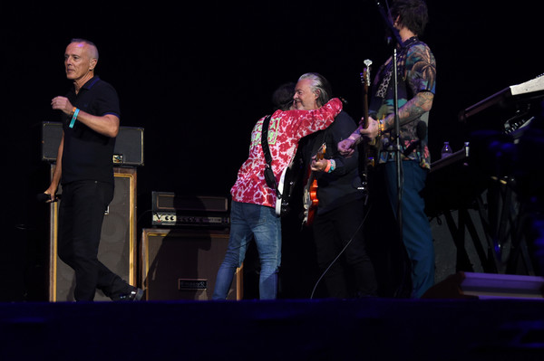 Rivers Cuomo and Roland Orzabal Photos - 1 of 6