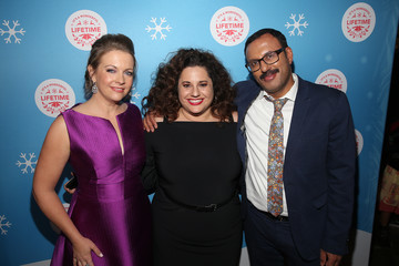 """Rizwan Manji In Celebration Of """"It's A Wonderful Lifetime,"""" Stars Of The Network's Christmas Movies Attend The VIP Opening Night Of The Life-sized Gingerbread House"""