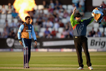 Rob Bailey Northamptonshire Steelbacks v Derbyshire Falcons - NatWest T20 Blast