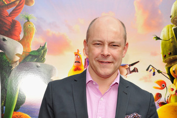 "Rob Corddry Sony Pictures Animation Present Los Angeles Premiere Of ""Cloudy With A Chance Of Meatballs 2"" - Red Carpet"