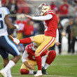 Robbie Gould Tennessee Titans vSan Francisco 49ers