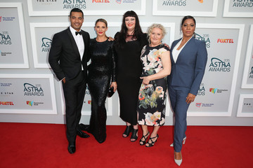 Robbie Magasiva Arrivals at the ASTRA Awards