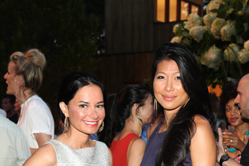 Monica Chang Robbie Myers Hosts ELLE 25 Summer Cocktail Celebration