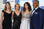 (L-R) Michaela Kennedy Cuomo, Kerry Kennedy, Hope Dworaczyk Smith, and Robert Smith attend as Robert F. Kennedy Human Rights hosts The 2015 Ripple Of Hope Awards honoring Congressman John Lewis, Apple CEO Tim Cook, Evercore Co-founder Roger Altman, and UNESCO Ambassador Marianna Vardinoyannis at New York Hilton on December 8, 2015 in New York City.