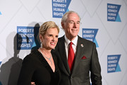 President, Robert F. Kennedy Human Rights Kerry Kennedy (L) attends the Robert F. Kennedy Human Rights Hosts 2019 Ripple Of Hope Gala & Auction In NYC on December 12, 2019 in New York City.