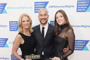 (L-R) Kerry Kennedy, Keegan-Michael Key and Michaela Kennedy Cuomo attend Robert F. Kennedy Human Rights Hosts Annual Ripple Of Hope Awards Dinner on December 13, 2017 in New York City.