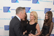(L-R) Alec Baldwin, Kerry Kennedy and Michaela Kennedy Cuomo attend Robert F. Kennedy Human Rights Hosts Annual Ripple Of Hope Awards Dinner on December 13, 2017 in New York City.