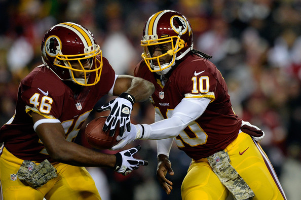 Robert Griffin III Says Alfred Morris is Teams Best Weapon