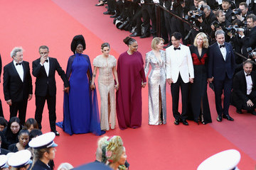 Robert Guediguian Closing Ceremony And 'The Man Who Killed Don Quixote' Red Carpet Arrivals - The 71st Annual Cannes Film Festival
