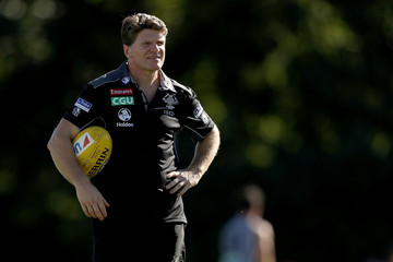 Robert Harvey Collingwood Magpies Intra-Club Match