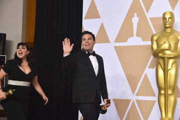 Robert Lopez 90th Annual Academy Awards - Press Room