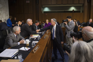 Robert Menendez Senate Banking Committee Holds Confirmation Hearing for Jerome Powell to Become Fed Reserve Board of Governors Chairman