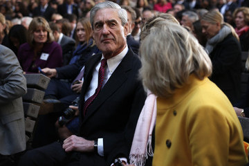 Robert Mueller Barack Obama Speaks at the FBI Headquarters