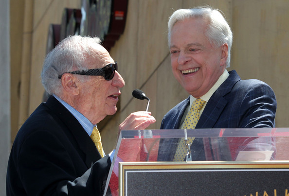 Mel Brooks Honored On The Hollywood Walk Of Fame