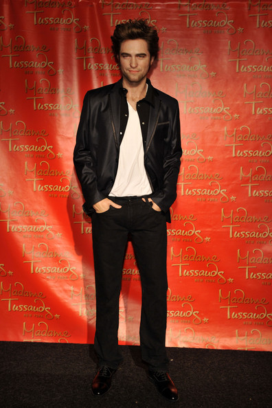 The Robert Pattinson wax figure is unveiled at Madame Tussauds on March 25, 2010 in New York City.