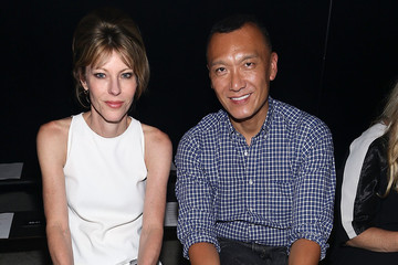 Roberta Myers MBFW: Front Row at Narciso Rodriguez