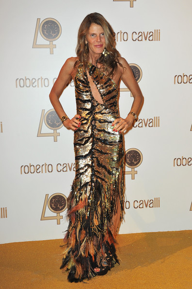 Anna dello Russo attends the Roberto Cavalli party at Les Beaux-Arts de Paris as part of the Paris Fashion Week Ready To Wear S/S 2011 on September 29, 2010 in Paris, France.