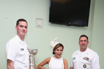 Robin Meade 141st Kentucky Derby - Green Room