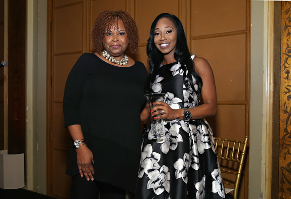T.J. Martell Foundation 4th Annual Women Of Influence Awards New York - Inside [photo,fashion,event,fashion design,dress,smile,party,style,robin quivers,martell foundation 4th annual women of influence awards,comptroller,dalia-lamming tilly,honoree,t.j.,new york,transport workers union]