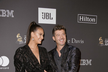 Robin Thicke The Recording Academy And Clive Davis' 2019 Pre-GRAMMY Gala - Arrivals