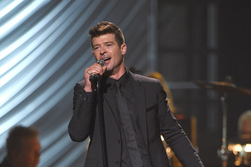 Robin Thicke Keep Memory Alive's 19th Annual 'Power of Love' Gala Honors Andrea & Veronica Bocelli - Inside