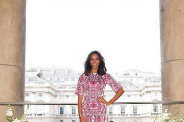 Rochelle Humes Rochelle Humes Presents Her SS15 Collection For Very