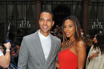 Rochelle Humes Day 2 - Front Row - LFW FW15