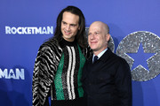 """Jordan Roth and RIchie Jackson attends the """"Rocketman"""" New York Premiere at Alice Tully Hall on May 29, 2019 in New York City."""