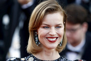 """Eva Herzigova attends the screening of """"Rocket Man"""" during the 72nd annual Cannes Film Festival on May 16, 2019 in Cannes, France."""