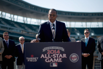 Rod Carew 2014 MLB All Star Game - News Conference