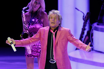 "Katja Rieckermann ""Rod Stewart: The Hits."" Launches At The Colosseum At Caesars Palace"