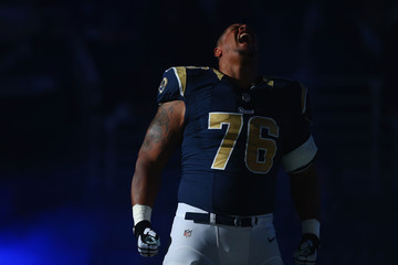 Rodger Saffold Oakland Raiders v St Louis Rams