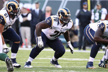 Rodger Saffold Los Angeles Rams v New York Jets