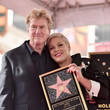 Roger Davies Pink Is Honored With A Star On The Hollywood Walk Of Fame