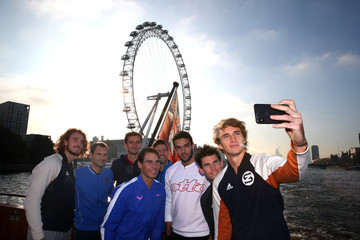 Roger Federer Alexander Zverev Nitto ATP World Tour Finals - Previews